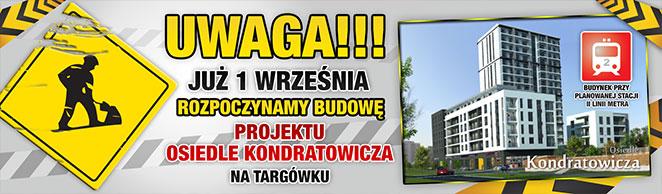 Nowa wyjątkowa inwestycja na Targówku. Osiedle Kondratowicza.